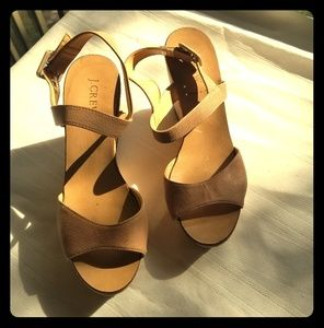 *PRE LOVED* J.Crew CorkStyle Wedges